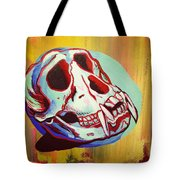 Monkey Skull Tote Bag