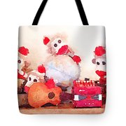 Monkeys And Music Tote Bag