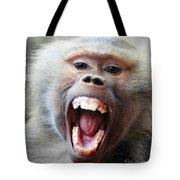 Monkey's Smile Tote Bag