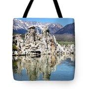 Mono Lake And Sierra Mtns Tote Bag