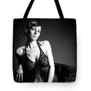 Monochrome Beauty Tote Bag