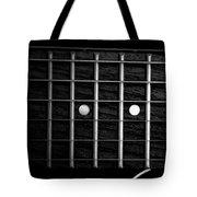 Monochrome Fretboard Tote Bag
