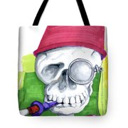 Monocle And Fez Tote Bag