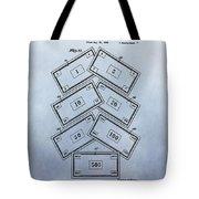 Monopoly Money Patent Tote Bag