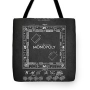 Monopoly Patent From 1935 - Dark Tote Bag