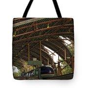 Monorail Depot Disneyland 01 Tote Bag