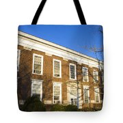 Monroe Hall University Of Virginia Tote Bag