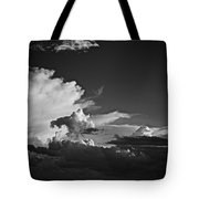 Monsoon Clouds At Sunset Tote Bag