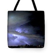 Monsoon Lightning Tote Bag