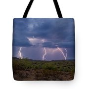 Monsoon Madness Strikes  Tote Bag