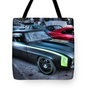 Monster Camaro Tote Bag