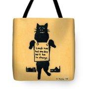 Monster Cat Tote Bag