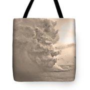 Monster Cloud Sepia Country Tote Bag