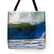 Monster Waves Tote Bag