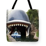 Monstro The Whale Boat Ride At Disneyland Tote Bag