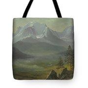 Mont Blanc Tote Bag