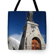 Mont Chetif With Small Chapel Tote Bag