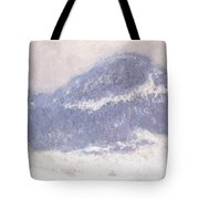 Mont Kolsaas Tote Bag by Claude Monet