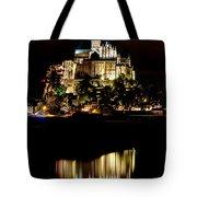 Mont Saint Michel At Night 1 Tote Bag