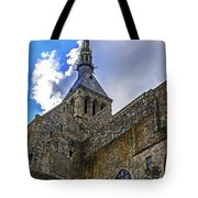 Mont St Michel Tower Tote Bag