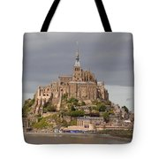 Mont St Michel Tote Bag