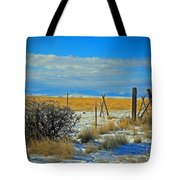 Montana Fencerow Tote Bag
