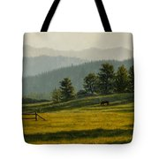 Montana Morning Tote Bag by Crista Forest