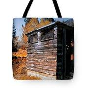 Montana Outhouse 03 Tote Bag
