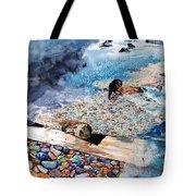 Montana Rocks Tote Bag