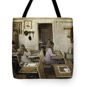 Montana's Oldest Standing Schoolhouse Tote Bag