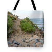 Montauk's Rocky Point Tote Bag