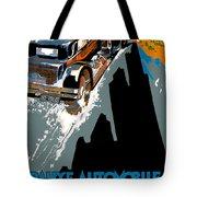 Monte Carlo Rallye Automobile Tote Bag