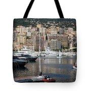 Monte Carlo Sailing - Monaco French Riviera Tote Bag