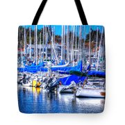 Monterey Bay Yacht Club Sterns 19734 Tote Bag