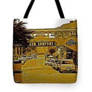Monterey Cannery Row Company Tote Bag