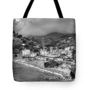 Monterosso Al Mare - Cinque Terre In Grey Tote Bag