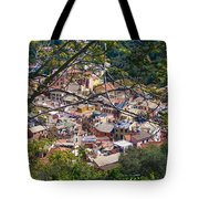 Monterosso From Above - Cinque Terre Tote Bag