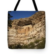 Montezuma Castle National Monument Az Dsc09056 Tote Bag