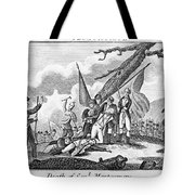 Montgomerys Death, 1775 Tote Bag