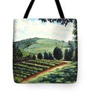 Monticello Vegetable Garden Tote Bag
