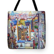 Montmartre View Tote Bag