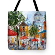 Montmartre Paris Tote Bag