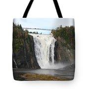 Montmorency Waterfall - Canada Tote Bag