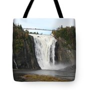 Montmorency Waterfall - Canada Tote Bag