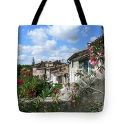 French Hilltop Terraces Tote Bag by France  Art