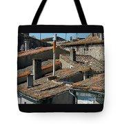 Tile Rooftops Of France Tote Bag