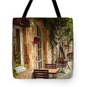 French Cafe Tote Bag