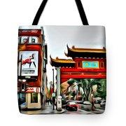 Montreal China Town Tote Bag