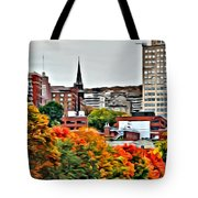 Montreal City Colors Tote Bag