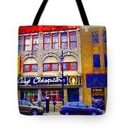 Cafe Cleopatra St Laurent